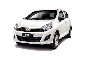 Senai Airport Car Rental Axia