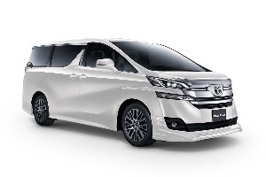 Senai Airport Car Rental Vellfire