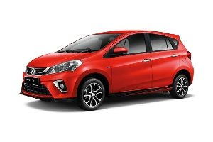 Senai Airport Car Rental Myvi